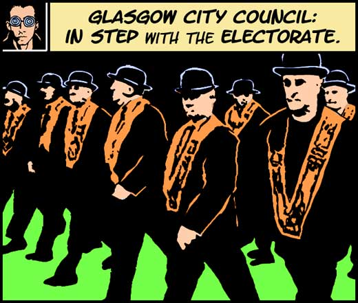 Glasgow City Council: In step with the electorate