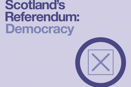 Scotland's Referendum: Democracy