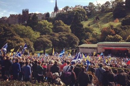 Review: March and Rally for Scottish Independence (2012)