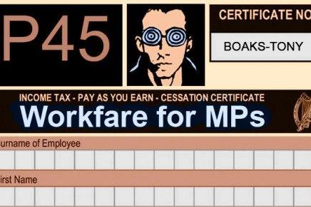 Workfare for MPs