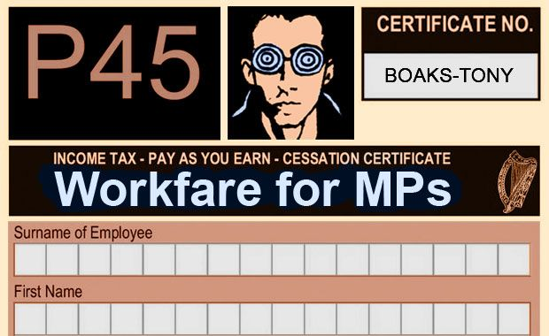 Workfare for MPs