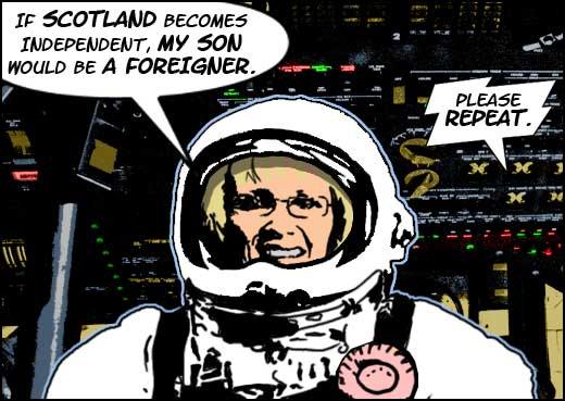 margaret curran in space2