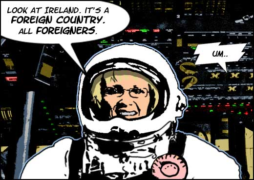 margaret curran in space5