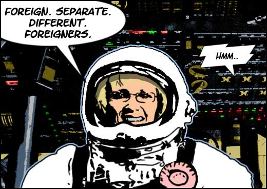 margaret curran in space8