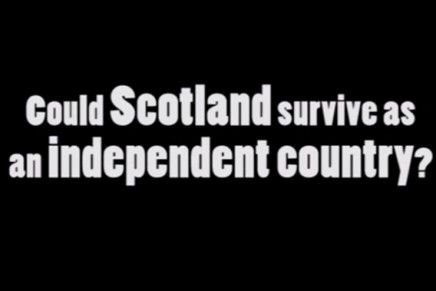 No Campaign Rally Behind A Successful Independent Scotland