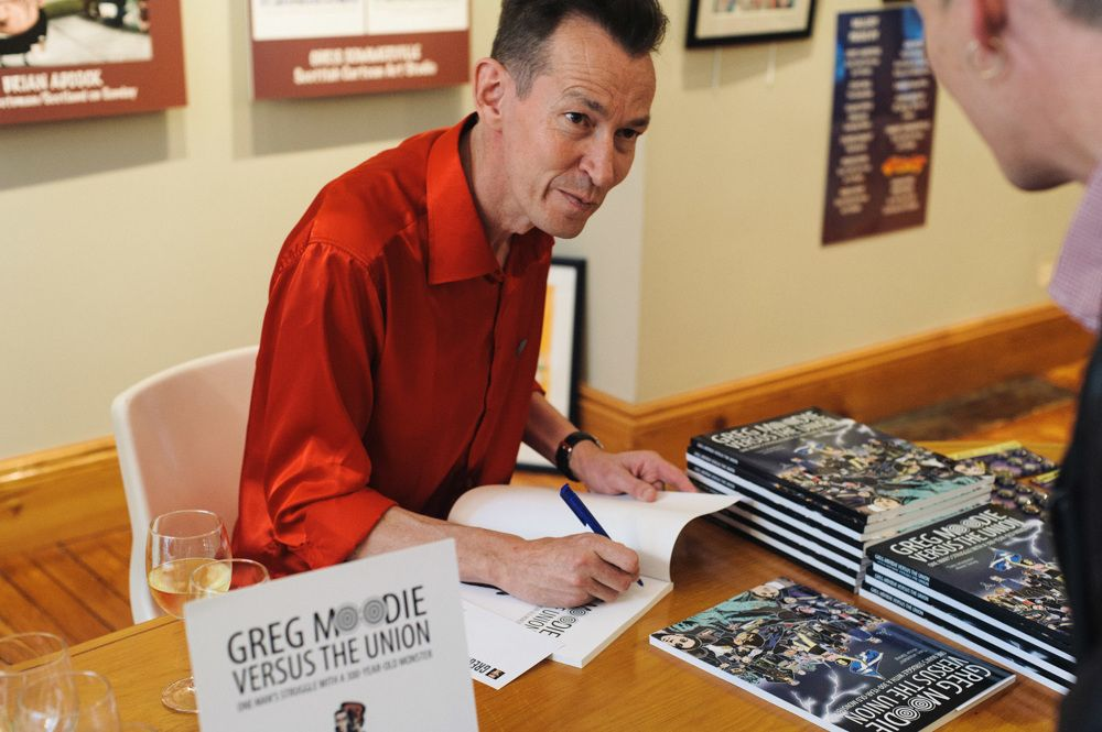 233 Greg Moodie Book Launch PM